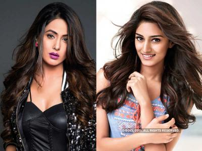 Erica Fernandes or Hina Khan, which one rock in mid-waist belted saree? See Pics Below
