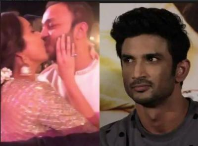 After breakup with Sushant, Ankita Lokhande now shares passionate LipLock with this man…video inside