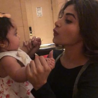 Mouni Roy playing with a little baby is the cutest thing you will see today