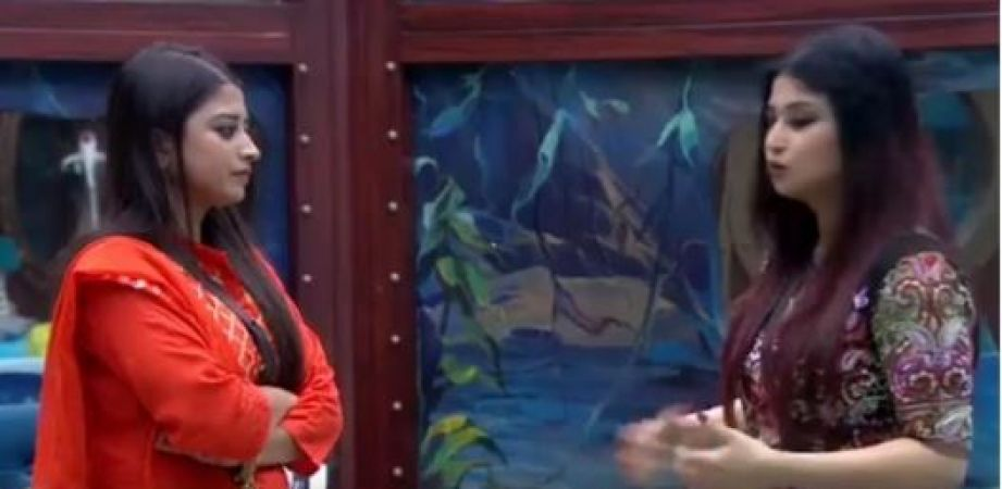Bigg Boss 12: 'pakka Choti behen hai naa? Romil 's wife Wife asks Somi when Romil introduce her
