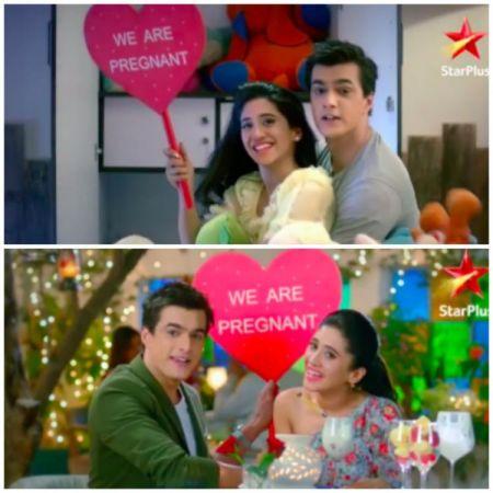 Yeh Rishta Kya Kehlata Hai: Mohsin Khan and Shivangi Joshi aka Kaira share 'we are pregnant' Good News