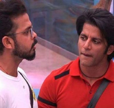 Bigg Boss 12:  Angry Sreesanth walk out the show when Karanvir calls him a 'Cheater'