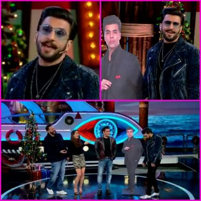 Bigg boss 12:Ranveer Singh will leave you in splits as Karan Johar