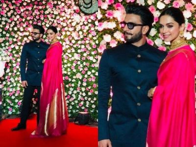 Watch VIDEOS Ranveer Singh, Deepika Padukone's PDA at Kapil Sharma-Ginni Chatrath's Mumbai reception