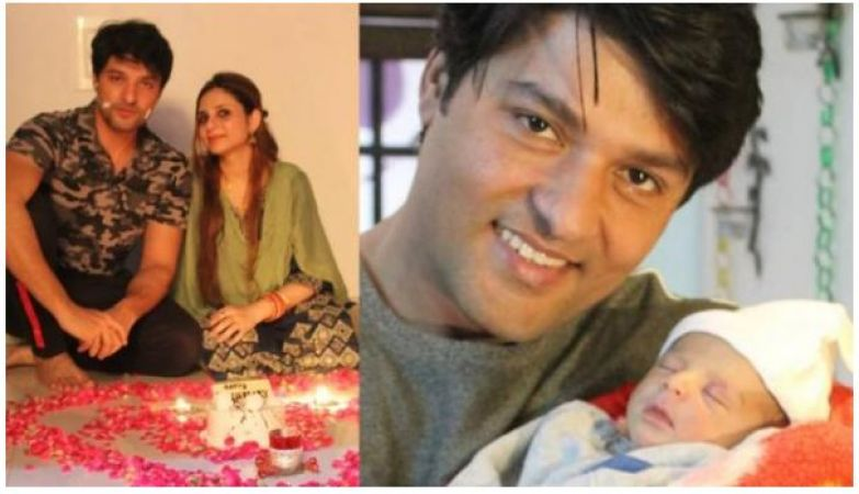 Diya Aur Baati actor Anas Rashid surprise his fans by sharing the first picture of a little cute baby