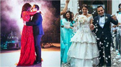 Rubina Dilaik and Keerti Kelkar Were Surveen's Bridesmaids
