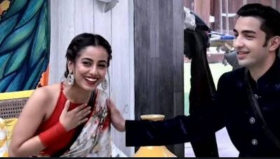 Srishty Rode and Rohit Suchanti go PDA on the Instagram