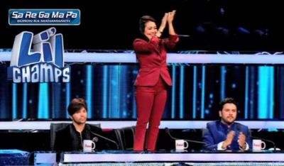 Neha Kakkar and Himesh Reshammiya defend Sa Re Ga Ma Pa Lil Champs