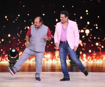 Dancing uncle finally met his idol Govinda on Madhuri Dixit's show Dance Deewane