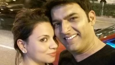Kapil flies off to Greece with fiance Ginni Chatrath for a vacation