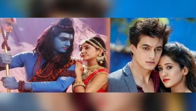 'Shiv Parvati' avatar of lovebird Mohsin Khan and Shivangi Joshi just steal your attention…check pics inside