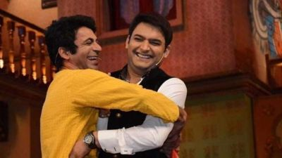 Kapil -Sunil seen under same roof on Seema Khan's birthday party