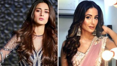 'we are not  friends' says Hina Khan on cold-vibes with co-actress Erica Fernandes