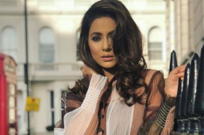 Hina Khan is in search for a perfect outfit for her Cannes 2019