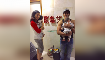 Karanvir Bohra gives very cute nicknames to his twins