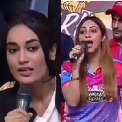 Naagin 3 actress Surbhi Jyoti gets in verbal spat with Arshi Khan, watch video here