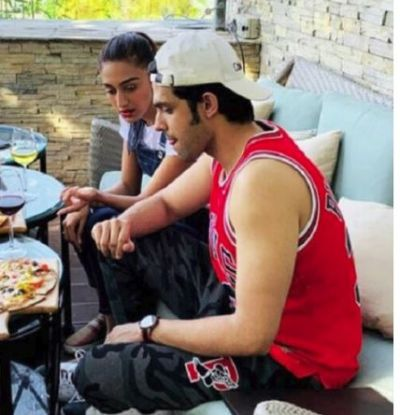 Erica Fernandes and Parth Samthaan gazes this mouth-watering dish