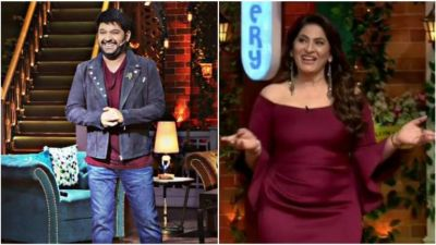 Kapil Sharma writes a letter to Archana Puran Singh to vacate her seat