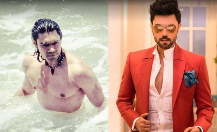 Gaurav Chopra burns the ice with this Picture