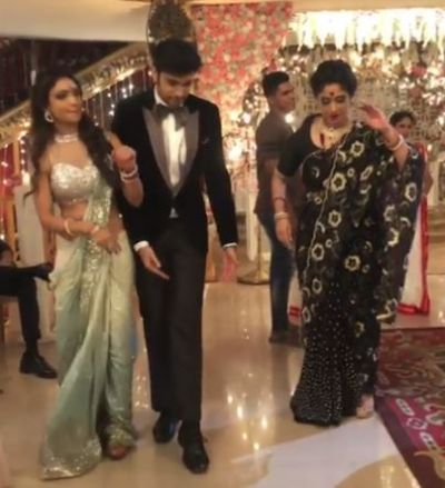 Watch video: Parth Samthaan and Pooja Banerjee hilariously copy Hina Khan's dance steps