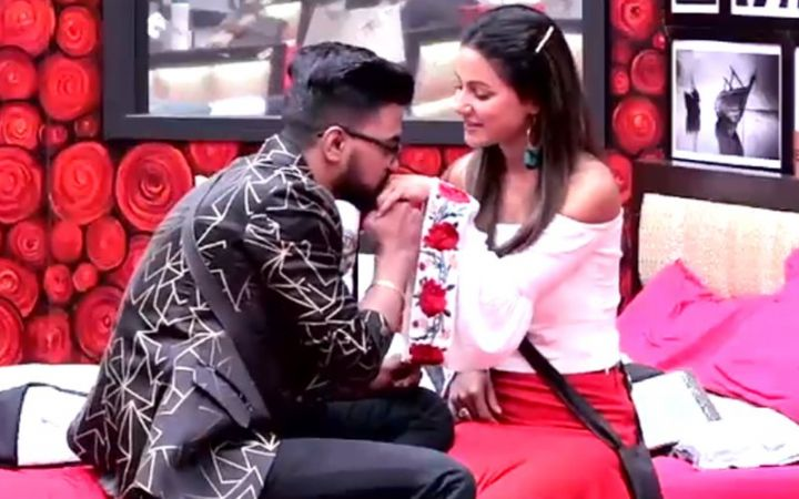 Hina Khan mouth shut trolls who say Rockey Jaiswal is not handsome