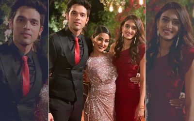 Farewell party for Hina Khan from the team of KZK2