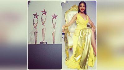 Surbhi Chandna of Ishqbaaz's happy post on Instagram after winning Star Parivaar Award