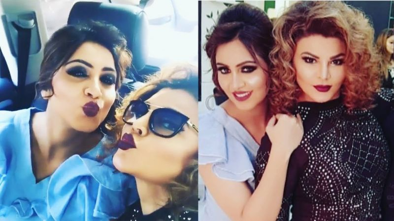 Arshi Khan and Rakhi Sawant the new BFF of television industry