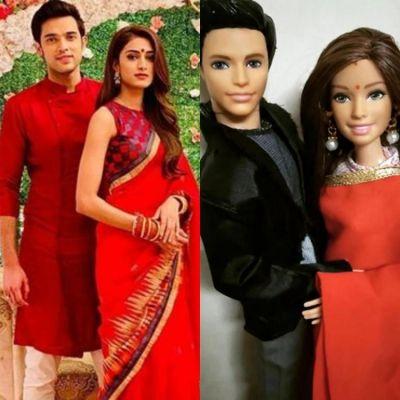 Kasautii Zindagii Kay's Prerna and Parth Samthaan aka Anurag get their lookalike dolls