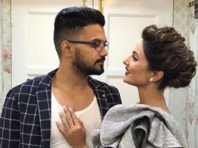 Hina Khan and beau Rocky Jaiswal go on a romantic drive in Switzerland, check out the picture here