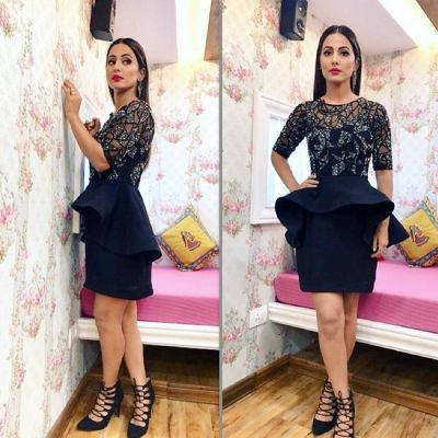 Hina Khan's vacay pic wearing this dress is amazing!