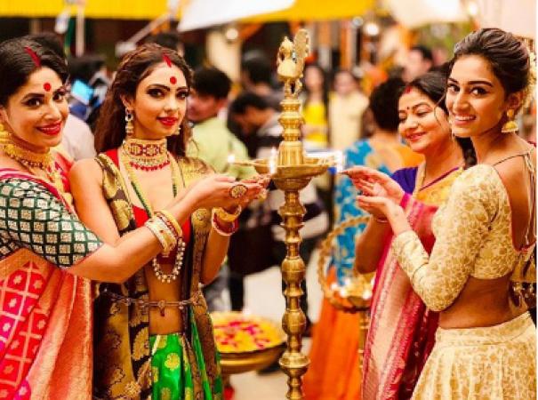 Photos:Kasautii Zindagii Kay 2 stars Erica Fernandes, Pooja Banerjee and the team celebrate Diwali