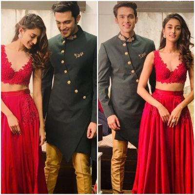 Kasautii Zindagii Kay 2: Erica Fernandes and Parth Samthaan look awsome in their Diwali ready outfits