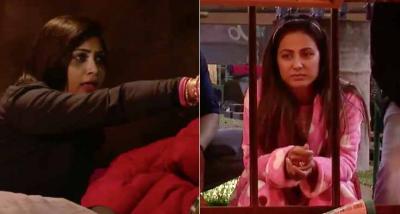 Bigg Boss 11: Arshi Khan accuses Luv Tyagi of staring at her breast.