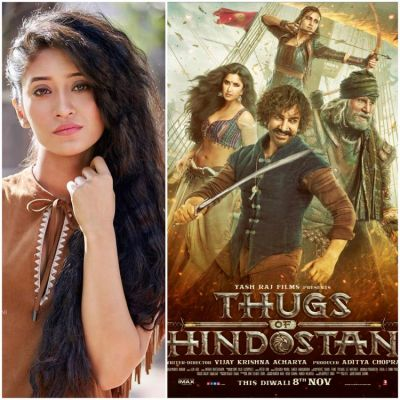 Shivangi Joshi appreciates Thugs of Hindostan: The movie is what it was supposed to be, an entertaining film