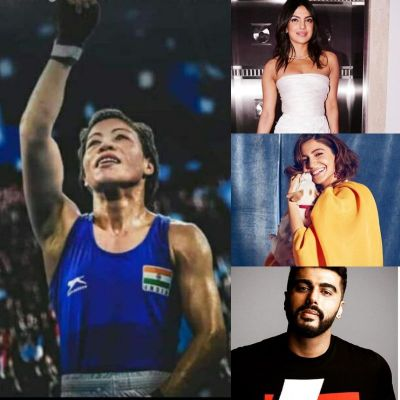 Bollywood stars are proud of boxer Mary Kom's victory, praise her on Twitter