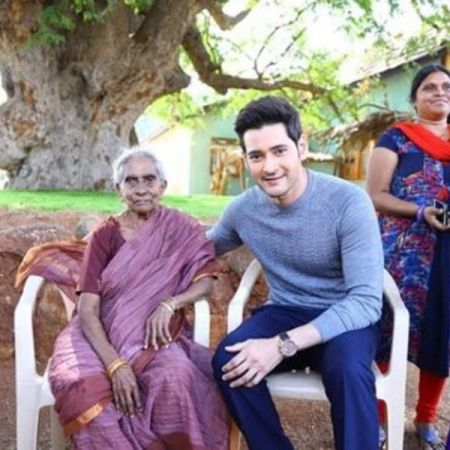 106 year old fans travelled to Hyderabad all the way from Rajahmundry only to meet Mahesh Babu