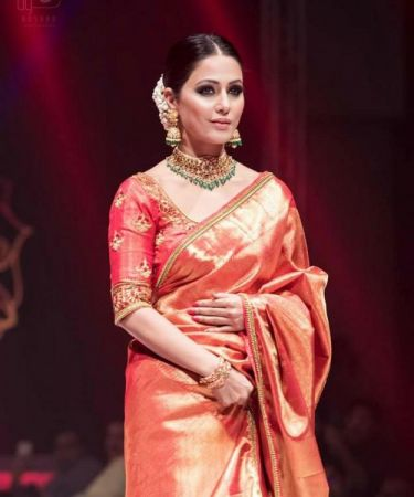 WATCH: Hina Khan's  elegance and royal look on the cover of a popular wedding magazine