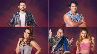 Bigg Boss 12: Sreesanth, Karanveer Bohra, Srishty Rode and Jasleen Matharu-Anup Jalota are in danger zone