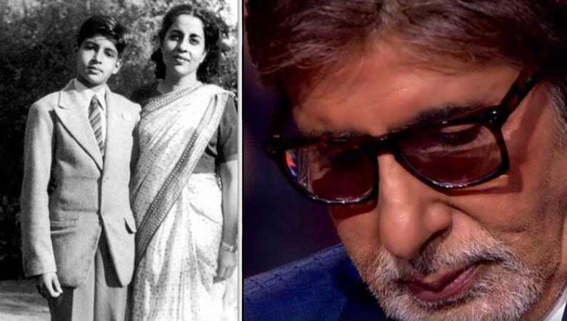 Happy birthday Amitabh Bachchan - Watch Hearing An Audio Clip Of Late Mother Teji Bachchan  KBC  host gets emotional