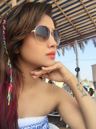 TV actress Adaa Khan enjoying her quality time by travelling