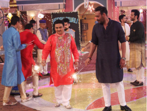 'Golmaal Again' star cast in on Taarak Mehta Ka Ooltah Chashmah to celebrate Diwali