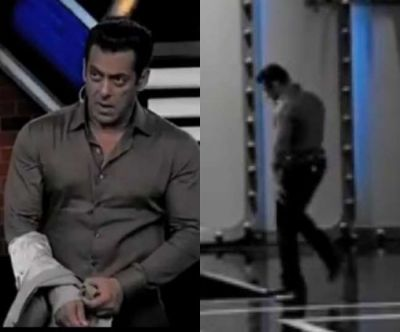 Video: Angry Salman Khan left Bigg Boss 13, told the makers to Get someone else