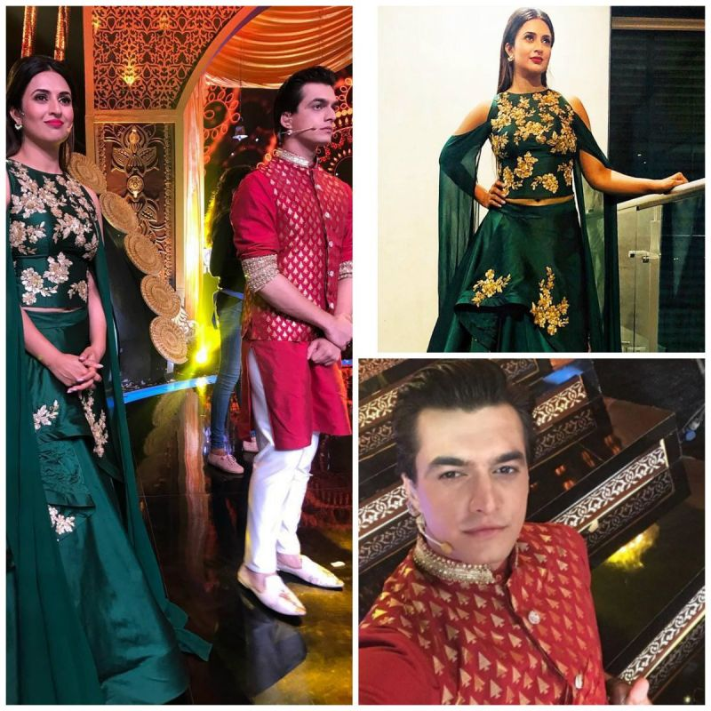 Divyanka Tripathi Dahiya and Mohsin Khan host for a special Ganesh Utsav event