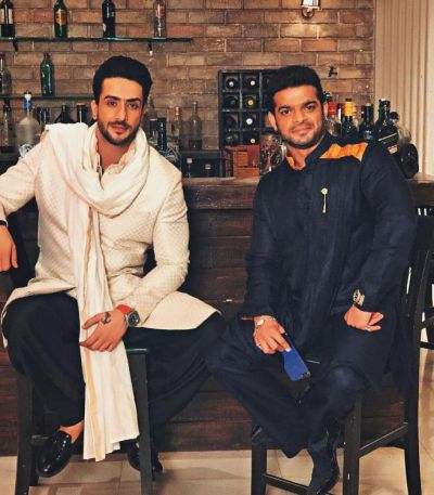 Aly Goni is welcomed by Karan Patel with a heartfelt message
