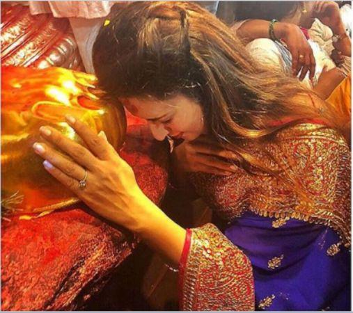 Ganesha Utsav Special: After Hina Khan, this actress reached to visit Raja of Lal Bagh
