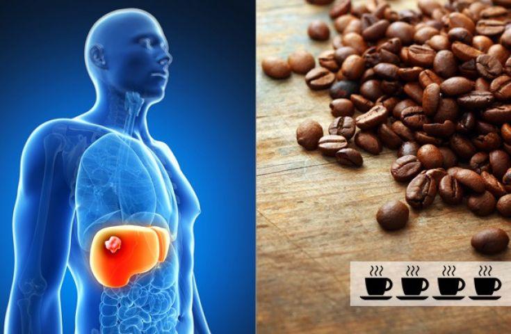 तीन कप कॉफ़ी बचा सकती है लिवर कैंसर के खतरे से