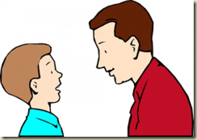बाप को ज्ञान मत बाट