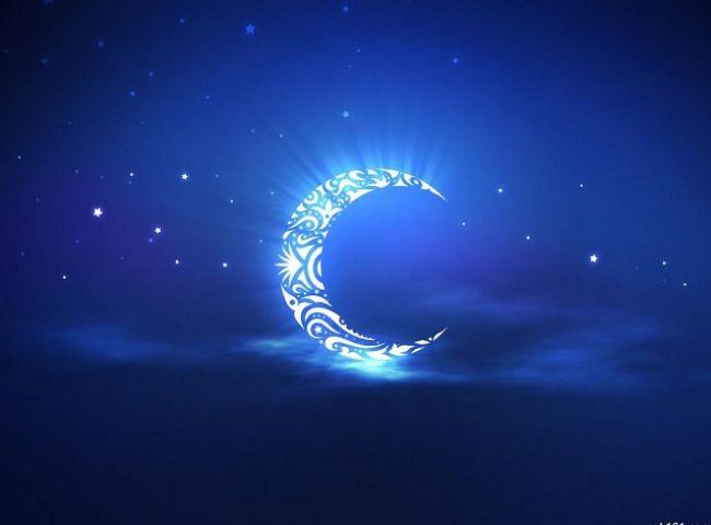 चमकता चाँद
