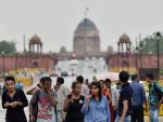 Delhiites woke up to a humid morning